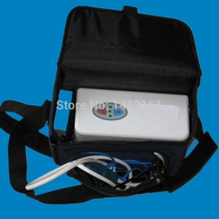 mini bateria oxygenerator oxigênio concentrador gerador portátil + invers
