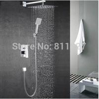 10 inch High quality brass Bath & Shower Faucets mixers taps chuveiro shower faucet mixer tap torneira cuba banheiro ducha
