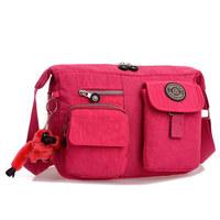 New Fashion Women Messenger Bags Travel  Solid Waterproof Nylon Shoulder Bag for Ladies Female School Bag Free Shipping