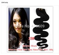 Free shipping factory direct 100% Brazilian human hair 16 inch big screen curls 100g / pack