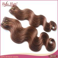 4pcs/lot 12-24inch European remy human hair extension 4# Body Wave cheap human hair remy hair bundles free shipping