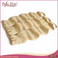 4pcs/lot 12-24inch Grade 6A European human hair weaves 613# color body wave befa hair bundles free shipping