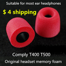 Free shipping Comply T-400 T500 isolation headphones Tips headset memory foam sponge earphone headphone sets