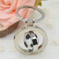 Cute Football Soccer Pendant Alloy Key Chain Set, Unique Key Rings Keychain Free Shipping Y60*MHM178#S7