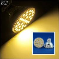 10 Pcs/lot Free Shipping MR16 LED 5W Warm White 29pcs 5050 SMD LED Spot Light Lamp Bulb AC220V LED0249