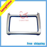Free shipping-Car refitting DVD frame,DVD panel,Dash Kit,Fascia,Radio Frame,Audio frame for 2014 VW POLO, 2DIN