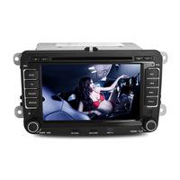 JOYOUS:7 inch 2 Din Car DVD GPS Player for Volkwagen Passat/Golf/Caddy/Jetta, support IPOD,radio,BT,APE,1080P video playing