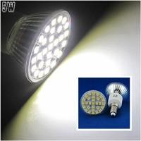 10 Pcs/lot Free Shipping E14 LED 5W Pure White 29pcs 5050 SMD LED Spot Light Lamp Bulb AC220V LED0266