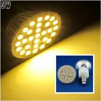 10 Pcs/lot Free Shipping E14 LED 5W Warm White 29pcs 5050 SMD LED Spot Light Lamp Bulb AC220V LED0267