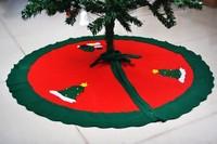 1Pcs 90cm Snowman Tree Skirt Christmas Tree Skirt Christmas Tree Decoration Christmas supplies & christmas decorations dp871343