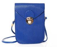 Hot Sale Women's messenger Bags Vintage Crossbody Shoulder Bags Small Plaid Wallet Bolsas PU Leather Handbags Clutch Purses