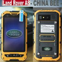 A8 IP68 waterproof Dustproof Shockproof rugged 4.0 inch Gorilla Glass MTK6572 Dual Core OS4.2 512MB 4GB ROM 0.3MP 5.0MP GPS