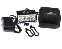VICMAX Front Mount led Bicycle Light   8*Cree XM-L2 U2 8000-Lumen 3-Mode waterproof 6*18650 Battery Pack Led Bike Light