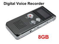Digital Audio Voice Recorder 8GB Dictaphone MP3 Player Professional SK-012 with retail box free shipping