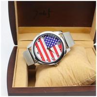 2014 New Luxury Fashion Gold Watch Full Quartz For Men women rhinestone watches Character Diamond Band ,Women Dress Watches