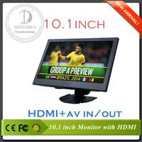 10.1 inch lcd headrest monitor with HDMI, FM transmitter AV IN&AV OUT