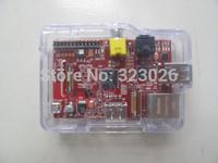 red version raspberry pi 2 Raspberry Pi Model B / B + linux development board( gift:send the shell)