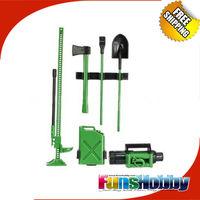MHPC RC Rock 1/10 Scale Green Tool Kit Accessory Crawler Par SCX10 CC01 WRAIT CR01 F350 RC4WD D110 Cod.FH31002/FH31005