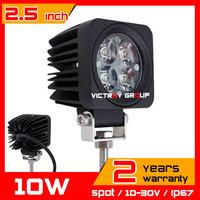 2X 10W LED Work Light Tractor ATV Motorcycle 12v Offroad Fog light Spot / Flood LED Worklight External Light Save on 27w 18w