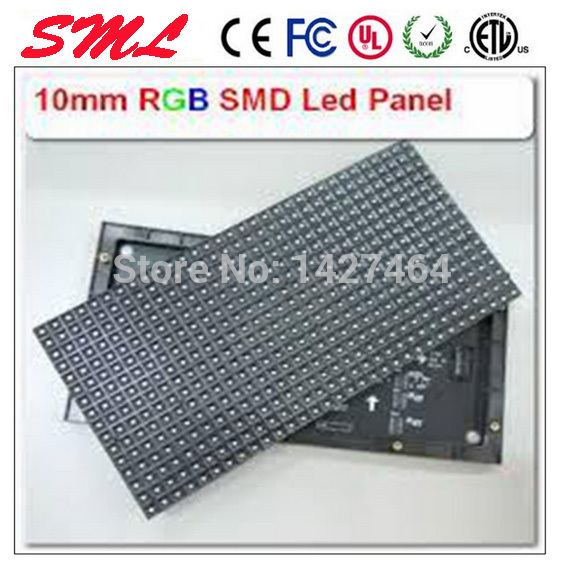 Wholesale highlighting outdoor full color 160mmX160mm unit board HD waterproof indoor display module led the P10(China (Mainland))