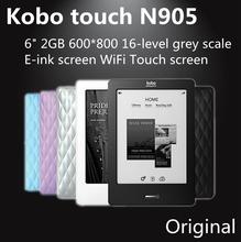 kobo touch N905A 6″  eink ebook reader wifi 2GB N905C 6 inch e-ink Ebook Reader WiFi freeshipping
