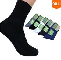 2pcs=1pair High Quality 2014 Brand New Men Socks male Bamboo cotton Autumn-Winter sport socks&striped socks for men free Size