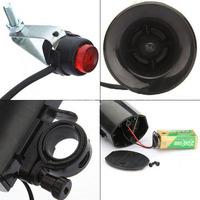 Loud 6-Sounds Waterproof Cycling Bike Bicycle Horn Bell Speaker Alarm Siren Free Shipping Wholesale