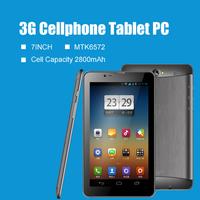 7inch SIM Phone call tablet PC MTK6572 3G GPS with Flashlight