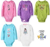 Original Koala Baby Girls Fashion Animal Bodysuit , Girls Long Sleeve Rompers, Freeshipping