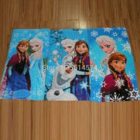2015 New Princess Towel Elsa and Anna cotton towels 60*120cm bathroom children beach towel kids bath towel