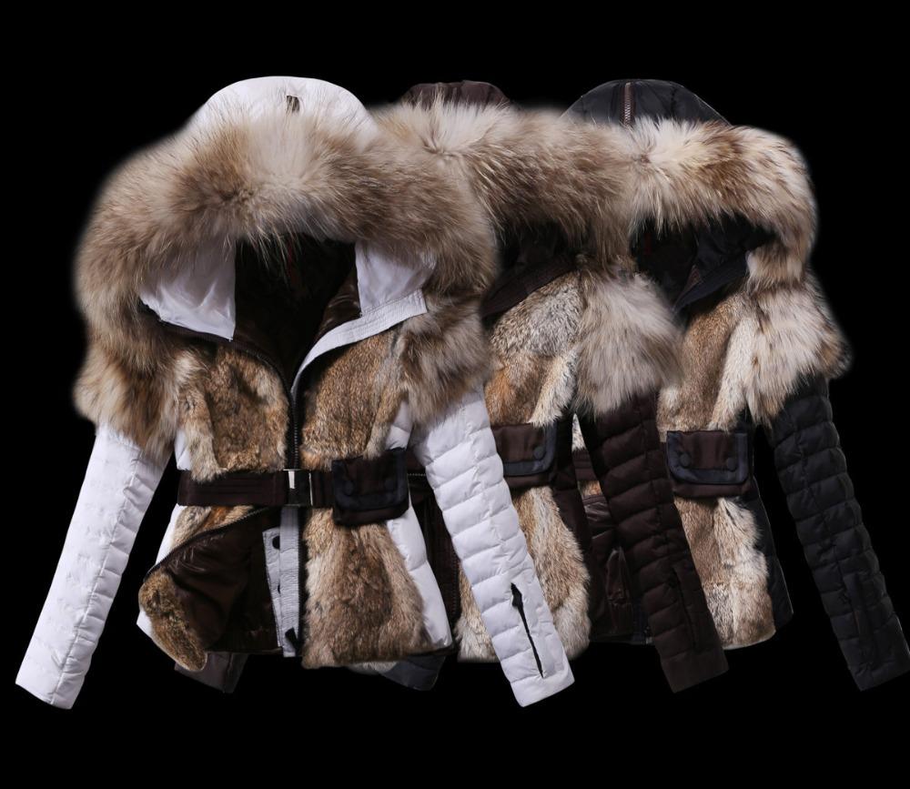 Купить Белую Куртку С Натуральным Мехом