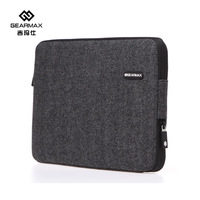 2015 Gearmax Liner Sleeve For Macbook Air Black Color Notebook Case For Macbook Pro 13 Ultrabook For Macbook Case Free Shipping
