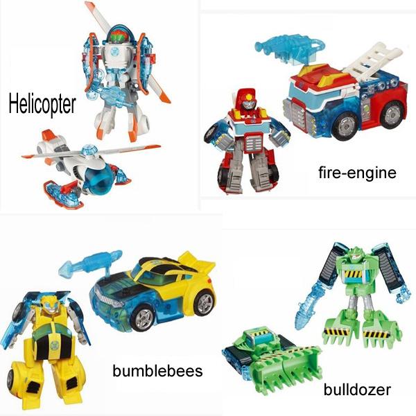 Rescue Bots Optimus Prime Toy Toys w Rescue Bots
