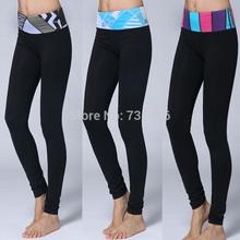 2014 marca venta al por mayor flacos de YOGA casual pantalones capri, cheap female Wunder bajo lulu sólido cropsPants / Legging / pantalones largos flacos(China (Mainland))