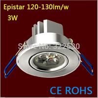 Hot sales Epistar 3W Led Ceiling Light.AC85-265V.CE ROHS