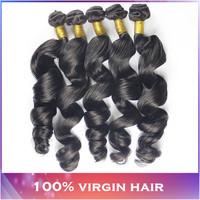 On sale rosa malaysian virgin hair loose wave 3pcs 100% unprocessed malaysian virgin hair cheap malaysian loose wave tangle free