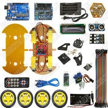 Free shipping! Bluetooth car kit B multifunction models Based platform for arduino 2014 with 1602 display(China (Mainland))