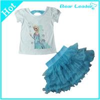 Медведь лидер] Детская Одежда для мальчиков и девочек хлопка футболку осень якорь карманные деньги детей Повседневная рубашка в полоску