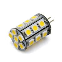 G4 Led Lamp Bi-Pin Tower 24 SMD 5050 White 5000K 6500K DC 12V