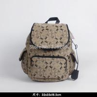2014 free shipping  kip backpack  women kip travel bag Nylon backpack famous brand bags 12505
