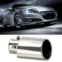 Chrome Stainless Steel Exhaust Muffler Tail Pipe Tip For Honda OYOTA CORRLLACivic 2006-2011
