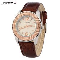 Fashion Ladies SINOBI Luxury Brand Watch Women Clothes Digital Quartz Watches A Woman Of Noble Atmosphere Watches