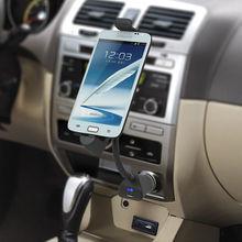Phone holder car cigarette lighter charger HTC Samsung Galaxy S2 S3 S4 's Nexus 5 4 Lenovo P6 HC03S5