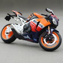 Бесплатная доставка 1:12 литья под давлением мотоциклов модель игрушки HONDA CBR1000RR металл мотоциклов модель игрушки для коллекции