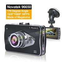 Novatek 96650 HD1080P Black Box Car DVR Vehicle Camera Video Recorder Dash Cam G-sensor HDMI with 170 degree wide angle C50