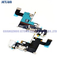 100Pcs/Lot For iPhone 6 New Headphone Audio Jack Dock Charger Connector Flex Cable Free Shipping