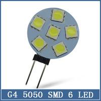 1x 5050 Mini G4 6 9 12 15 24 LED Light 12V Chandelier Crystal Home Reading RV Marine Boat Corn Bulb Cabinet Car Interior Lamps