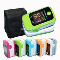 Health care SH-D1 CE&FDA LED Finger Pulse Oximeter Blood Oxygen SPO2 Fingertip PR Saturation Oximetro Monitor with case