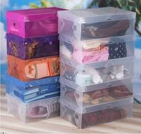 Thickening Plastic Shoe box Storage boxes