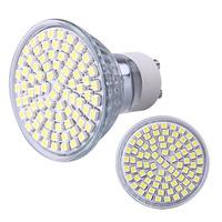 2014 Whosales GU10 Pure White 80 SMD LED Home Office Spot Light Bulb Lamp Spotlight 230V 4W
